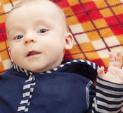 усмехаться ребенка счастливый Стоковое Изображение RF