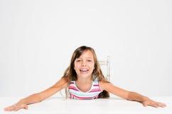 усмехаться ребенка счастливый Стоковая Фотография