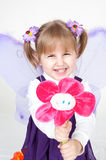 усмехаться ребенка Стоковые Фото