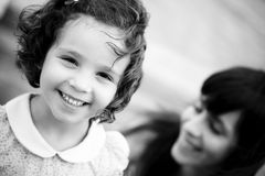 усмехаться ребенка Стоковое Фото