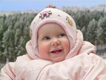 усмехаться ребенка Стоковое фото RF