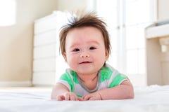 усмехаться ребёнка счастливый Стоковая Фотография