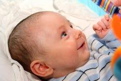 усмехаться ребёнка Стоковые Фото