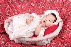 усмехаться ребёнка Стоковое Изображение RF