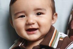 усмехаться ребёнка Стоковая Фотография