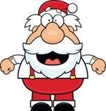 Усмехаться Санта Клауса мультфильма бесплатная иллюстрация