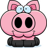 Усмехаться свиньи шаржа бесплатная иллюстрация