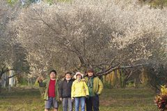 Усмехаться семьи счастливый Стоковое фото RF