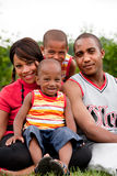 усмехаться семьи Стоковое Изображение RF