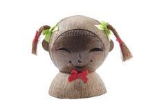 усмехаться скульптуры девушок головной Стоковые Изображения