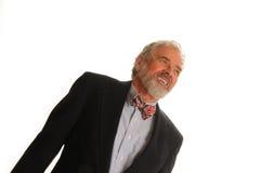 усмехаться старшия человека Стоковое Изображение RF