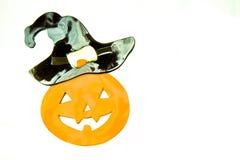 Усмехаться тыквы хеллоуина Стоковая Фотография RF
