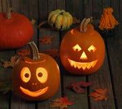 усмехаться тыкв halloween Стоковое Изображение