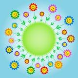 усмехаться цветков Стоковые Изображения