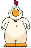 Усмехаться цыпленка шаржа бесплатная иллюстрация