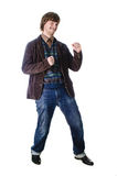 усмехаться человека Стоковая Фотография RF