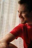 усмехаться человека Стоковые Фото