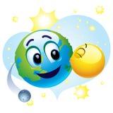 усмехаться шарика Стоковое Фото