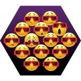 усмехаться шариков иллюстрация вектора