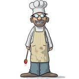 усмехаться шеф-повара бесплатная иллюстрация