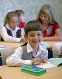 усмехаться школьника Стоковые Изображения RF