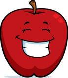 усмехаться яблока иллюстрация вектора