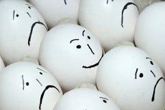 усмехаться яичка Стоковое Изображение