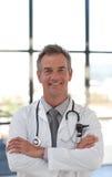 усмехаться доктора возмужалый Стоковые Фото