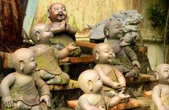 усмехаться buddhas стоковые изображения rf