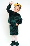 усмехаться costume мальчика стоковая фотография