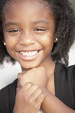 усмехаться headshot ребенка Стоковое Изображение