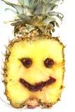 Усмехаясь ананас Стоковое Изображение