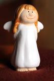 Усмехаясь ангел рождества Стоковое Фото