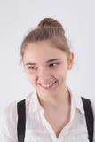 Усмехаясь девушка Стоковое Изображение RF