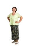 Усмехаясь женщина Стоковое Изображение RF