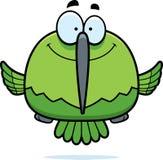 Усмехаясь маленький колибри иллюстрация штока