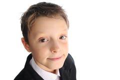 Усмехаясь мальчик Стоковое фото RF