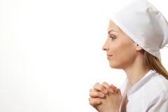 Усмехаясь медсестра или доктор женщины Стоковое Изображение
