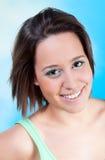 Усмехаясь молодая женщина Стоковое фото RF