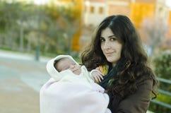 Усмехаясь младенец Стоковая Фотография