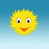Усмехаясь Солнце Стоковая Фотография