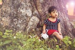 Усмехаясь сторона детей Стоковое Фото