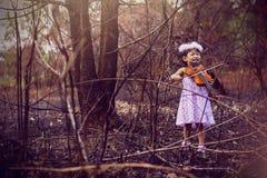 Усмехаясь сторона детей Стоковые Фото
