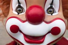 Усмехаясь сторона клоуна стоковая фотография rf