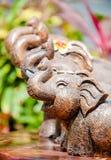 Усмехаясь слон Стоковая Фотография RF