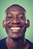 Усмехаясь человек портрета Стоковая Фотография