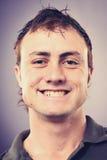 Усмехаясь человек портрета Стоковое Изображение RF