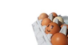Усмехаясь яичко в пакете яичка Стоковое Изображение RF