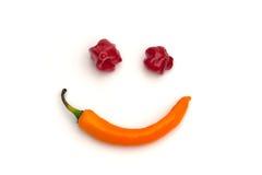 Усмехаясь Chili Стоковые Изображения