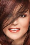 усмешка волос Стоковое Изображение